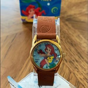 Vintage Little Mermaid Timex Watch